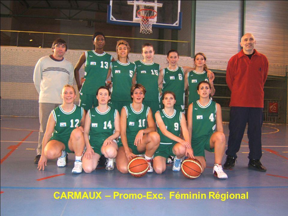 CARMAUX – Promo-Exc. Féminin Régional