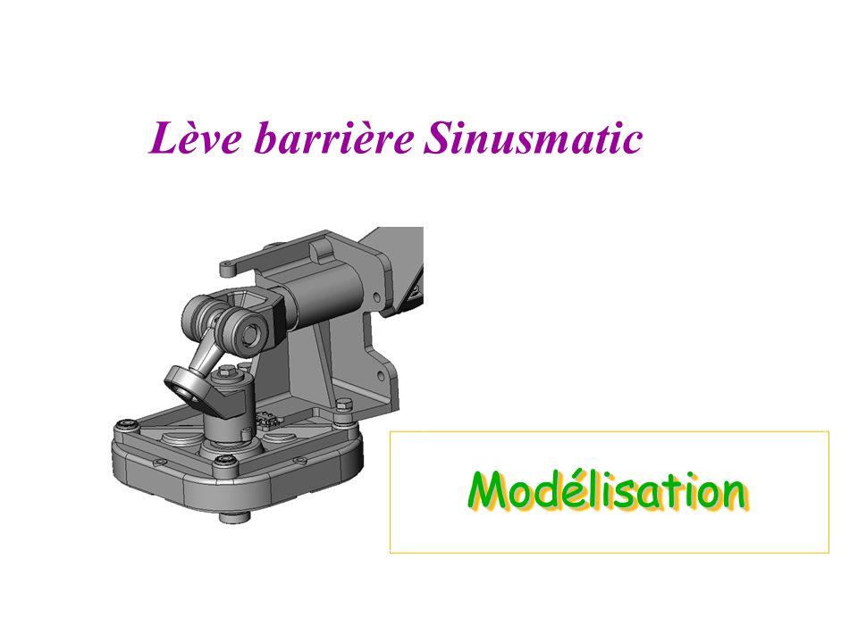 ModélisationModélisation Lève barrière Sinusmatic