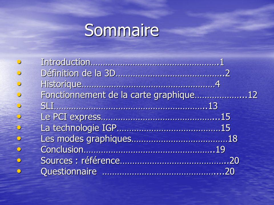 La technologie IGP La technologie IGP A- Définition : AGP (Accelerated Graphics Port) Bus à haute vitesse créé par Intel en 1997.