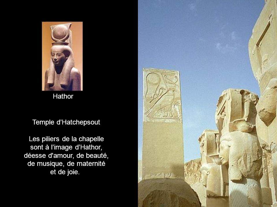 Le temple dHatschepsout Hatchepsout (1466 -1444 av.