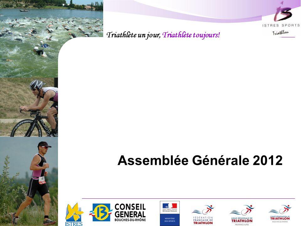 Triathlète un jour, Triathlète toujours! Istres Sports Triathlon Assemblée Générale 2012