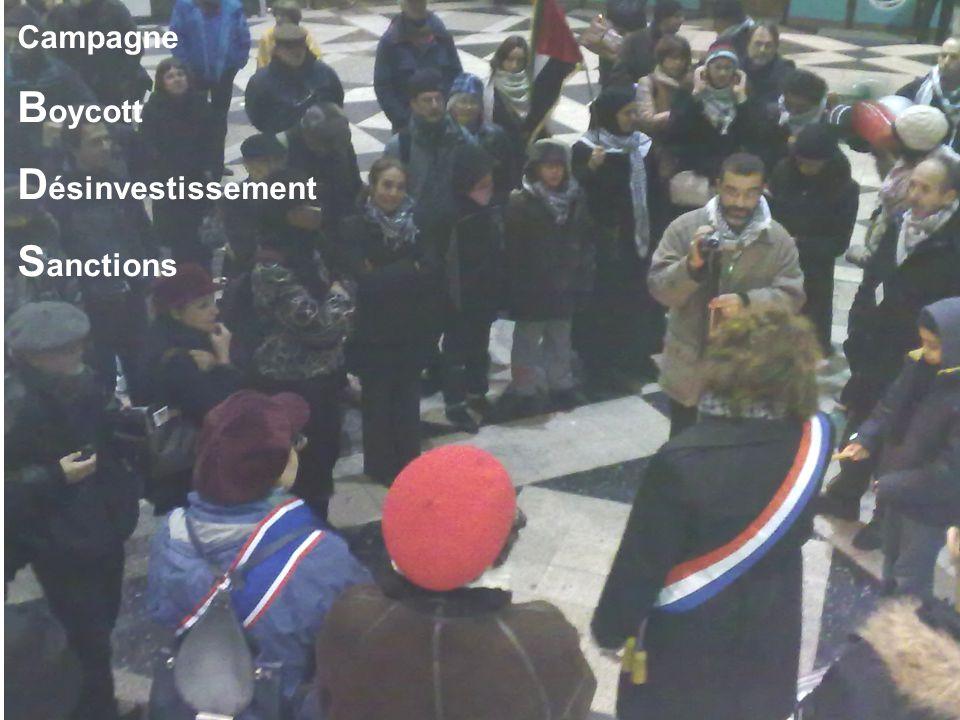 Campagne B oycott D ésinvestissement S anctions