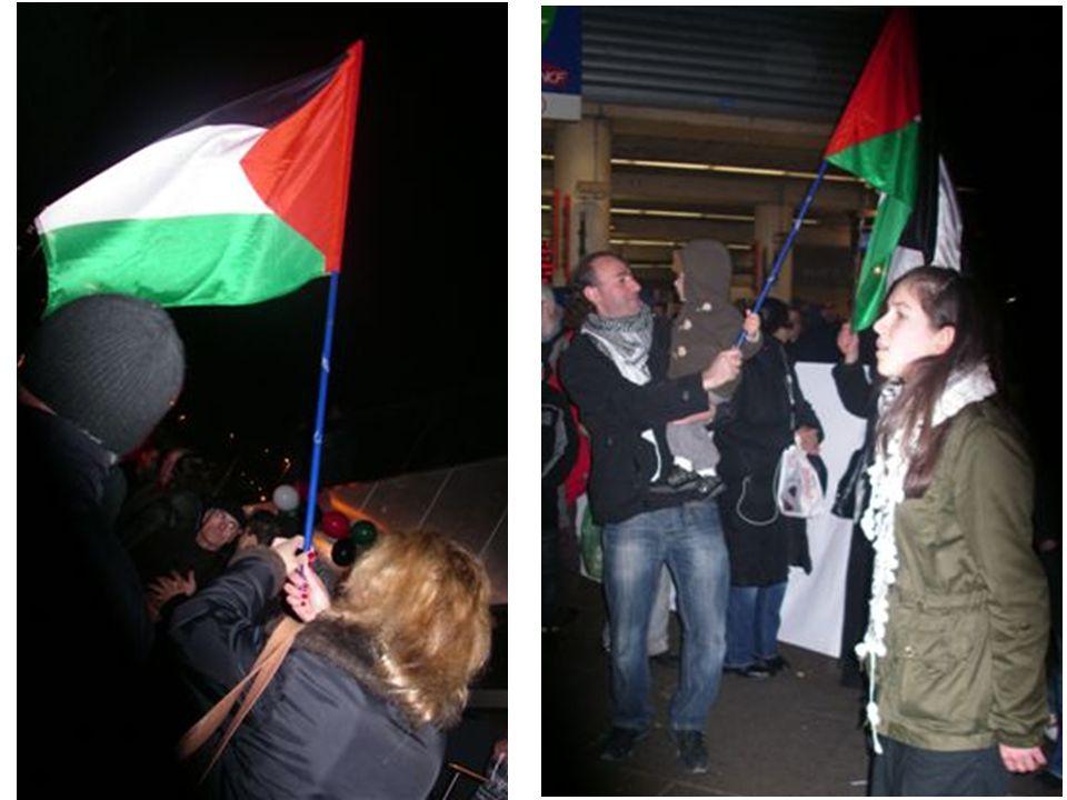 La représentante de la Délégation Générale de la Palestine en France