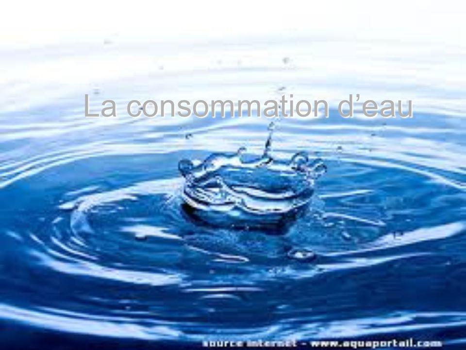 La consommation deau