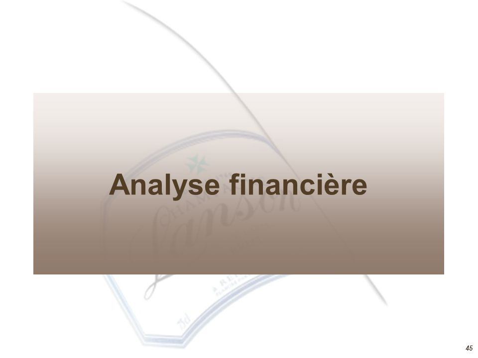 44 Stratégie de pénétration Alliance stratégique – lapport de la théorie des ressources Partenariat en forme de contrat de distribution exclusive avec