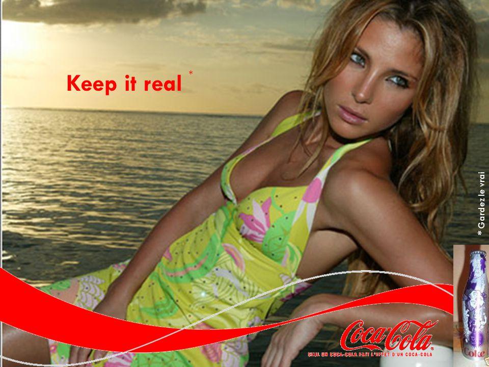 Keep it real * * Gardez le vrai