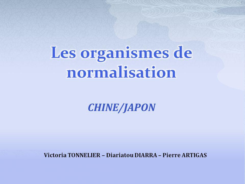 CHINE/JAPON Victoria TONNELIER – Diariatou DIARRA – Pierre ARTIGAS