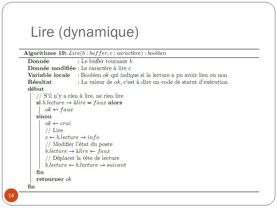 Lire (dynamique) 14