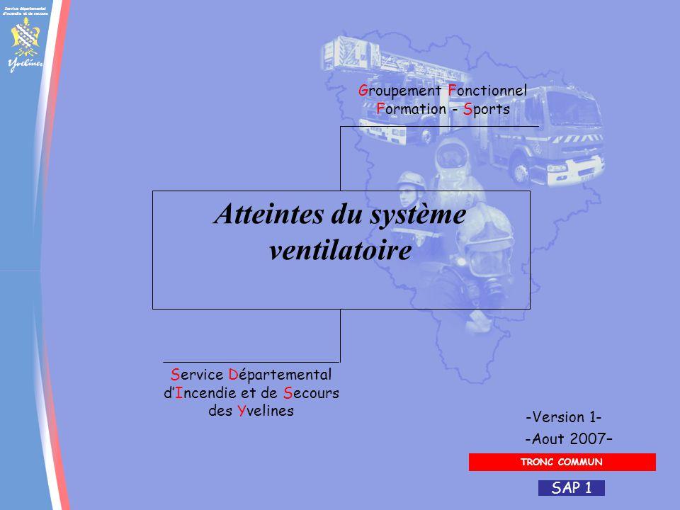 Service départemental d'incendie et de secours Groupement Fonctionnel Formation - Sports Service Départemental dIncendie et de Secours des Yvelines -A