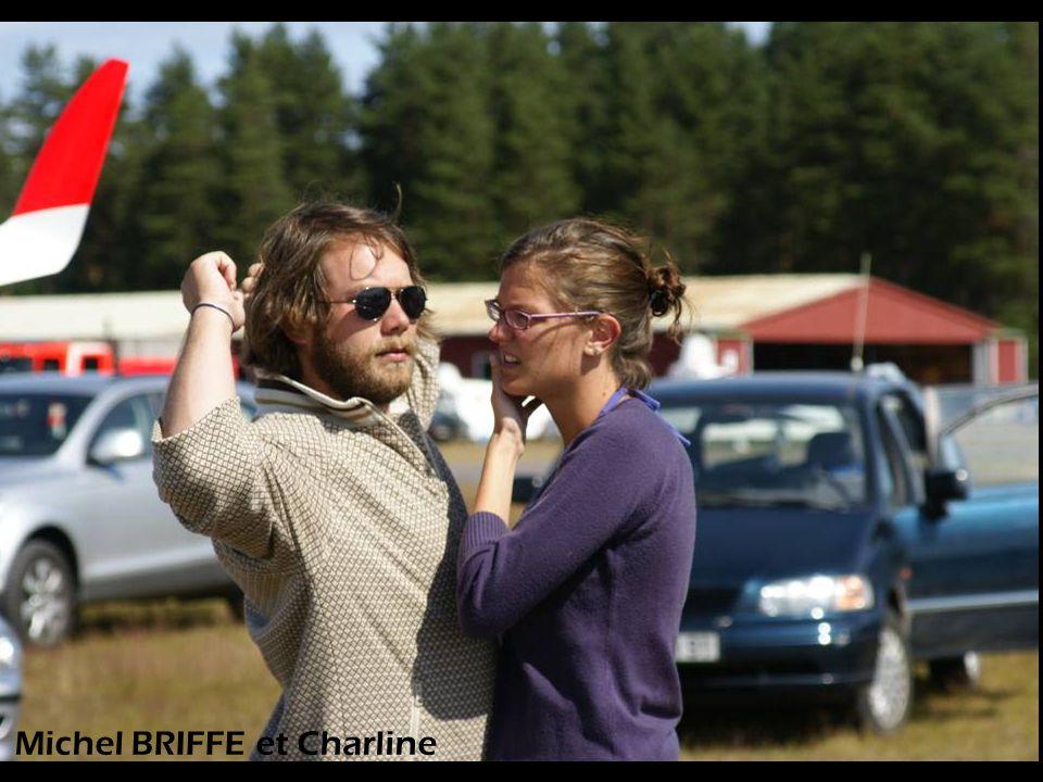 Michel BRIFFE et Charline