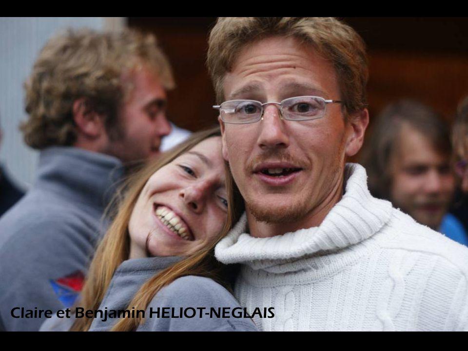 Claire et Benjamin HELIOT-NEGLAIS