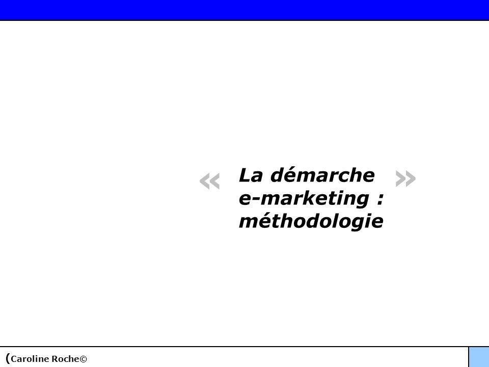 La démarche e-marketing : méthodologie « » ( Caroline Roche©