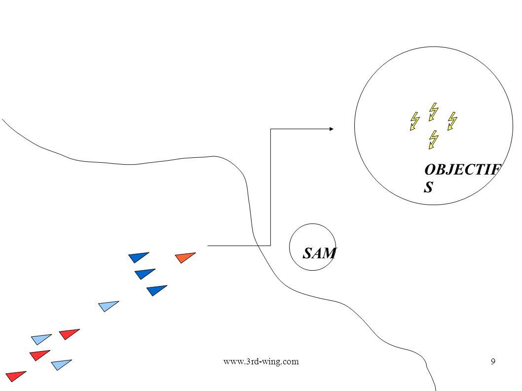www.3rd-wing.com9 OBJECTIF S SAM