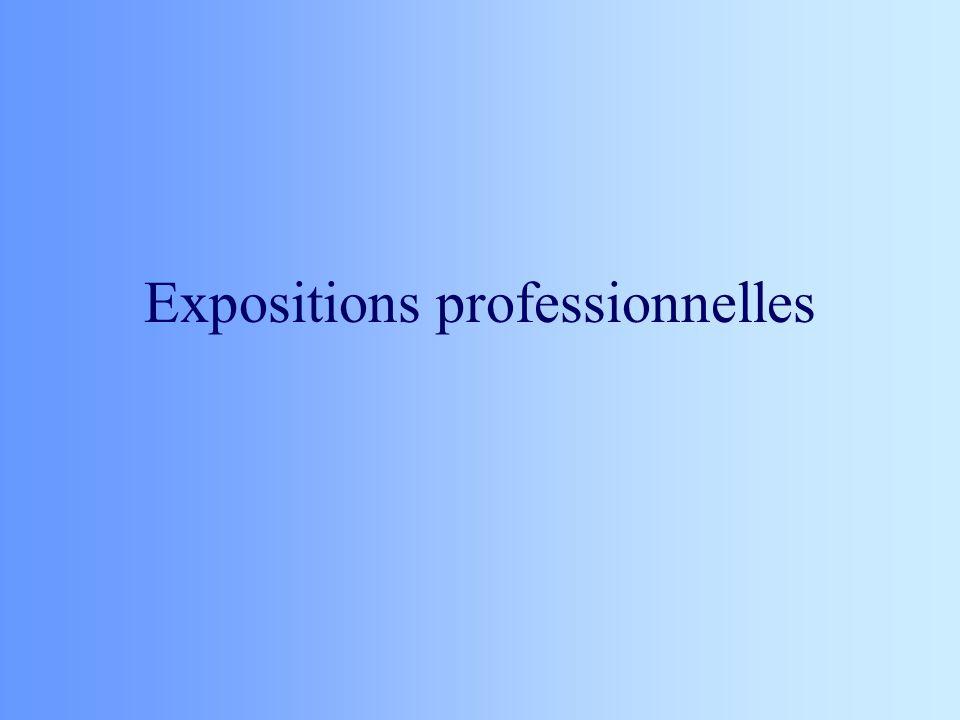 Expositions professionnelles