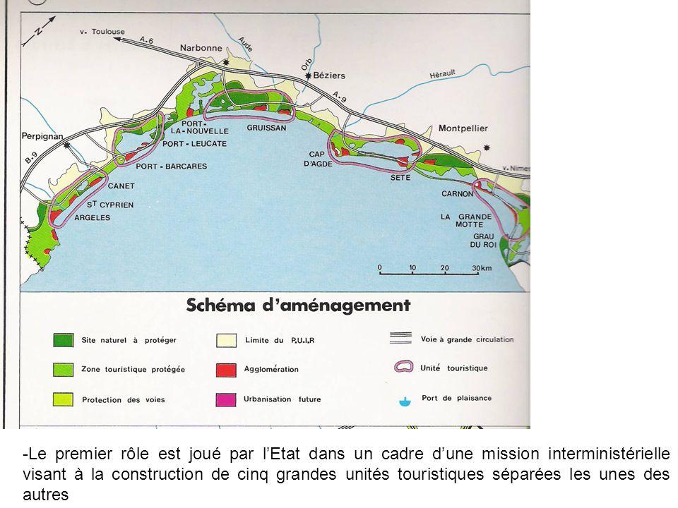 Page 137 Le Cap dAgde en constitue une illustration : assèchement des marécages, constructions de plages, despaces de verts, de voiries (autoroute A9), de ports de plaisance et de résidences