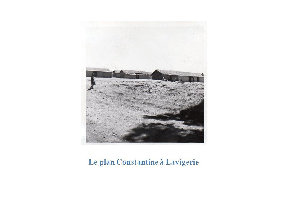 Le plan Constantine à Lavigerie