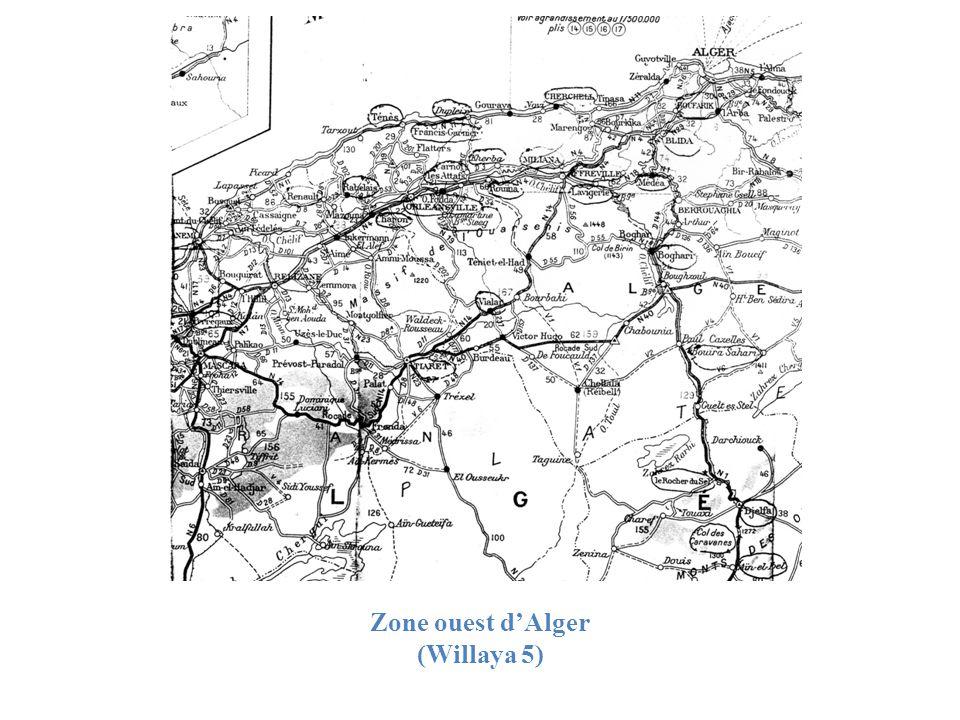 Zone ouest dAlger (Willaya 5)