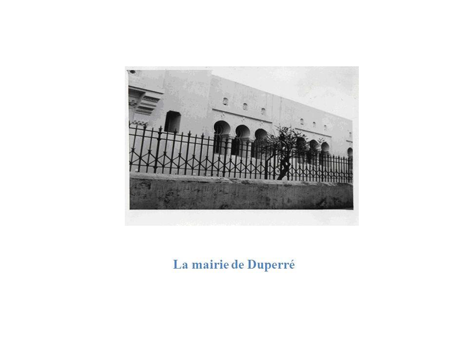 La mairie de Duperré