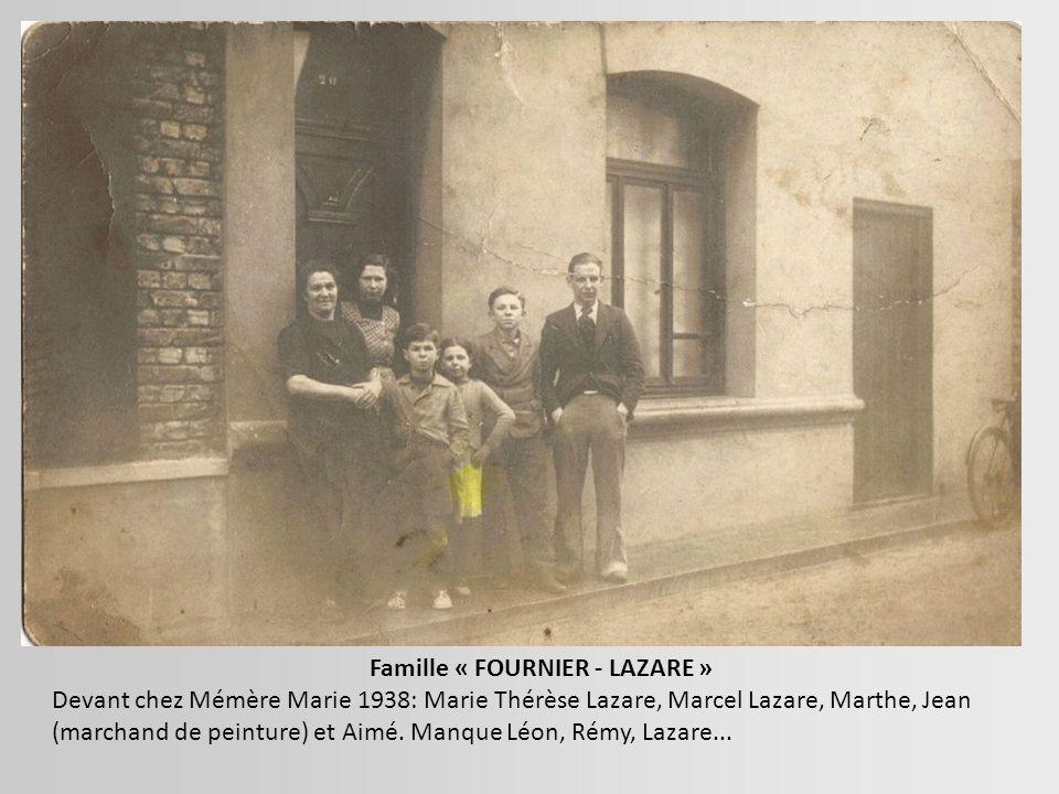Jeanne Hannequin Epouse thyllier Et ses deux enfants jean et Gaston Dans les Années 1920 Maxime ?? Inspecteur des douanes Homme a Bertha