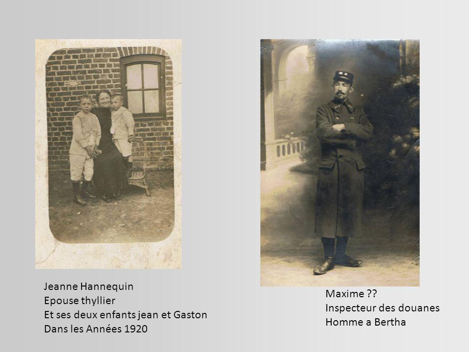 Alberth a Marie-jeanne Emélie Margot Francisne Edith ????