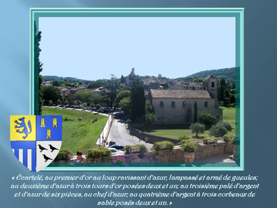 Comme dans tous les vieux villages provençaux, de nombreuses fontaines viennent jalonner notre visite.