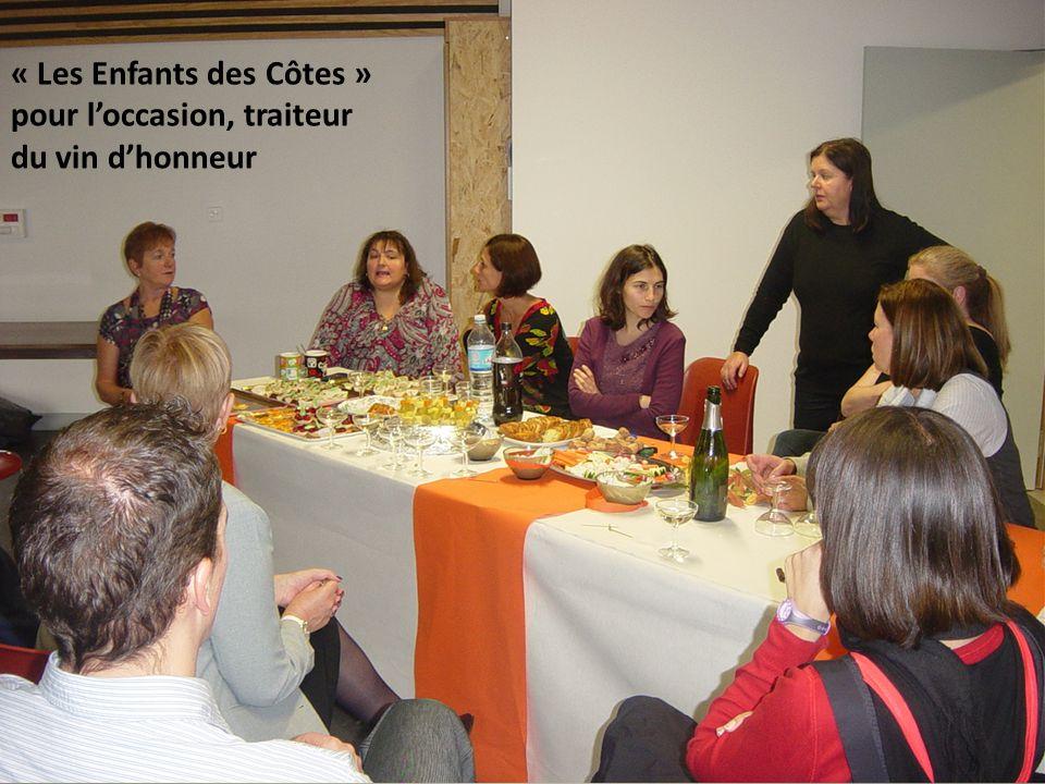 « Les Enfants des Côtes » pour loccasion, traiteur du vin dhonneur