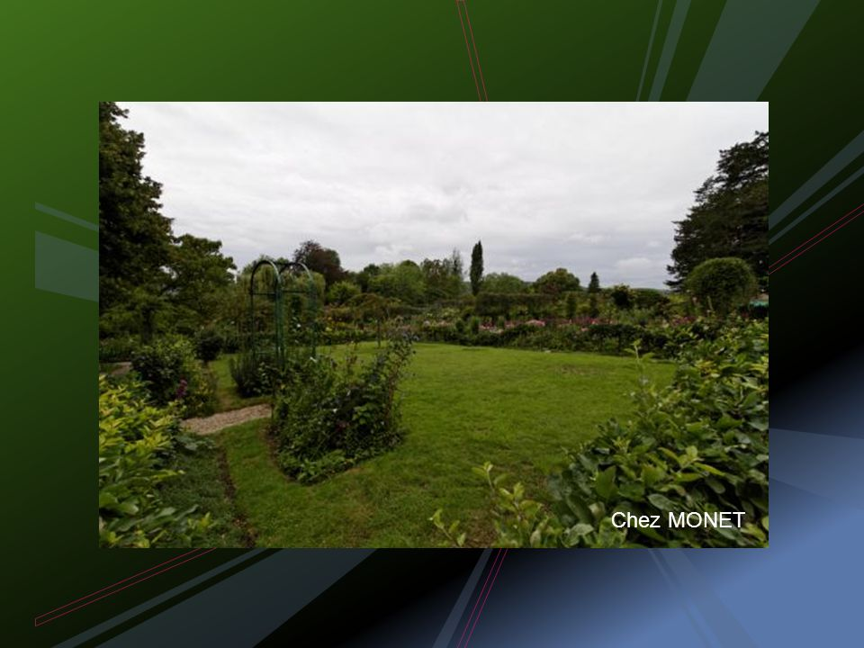 GIVERNY 04/08/2011 L impressionnisme selon Ph. BLONDEL