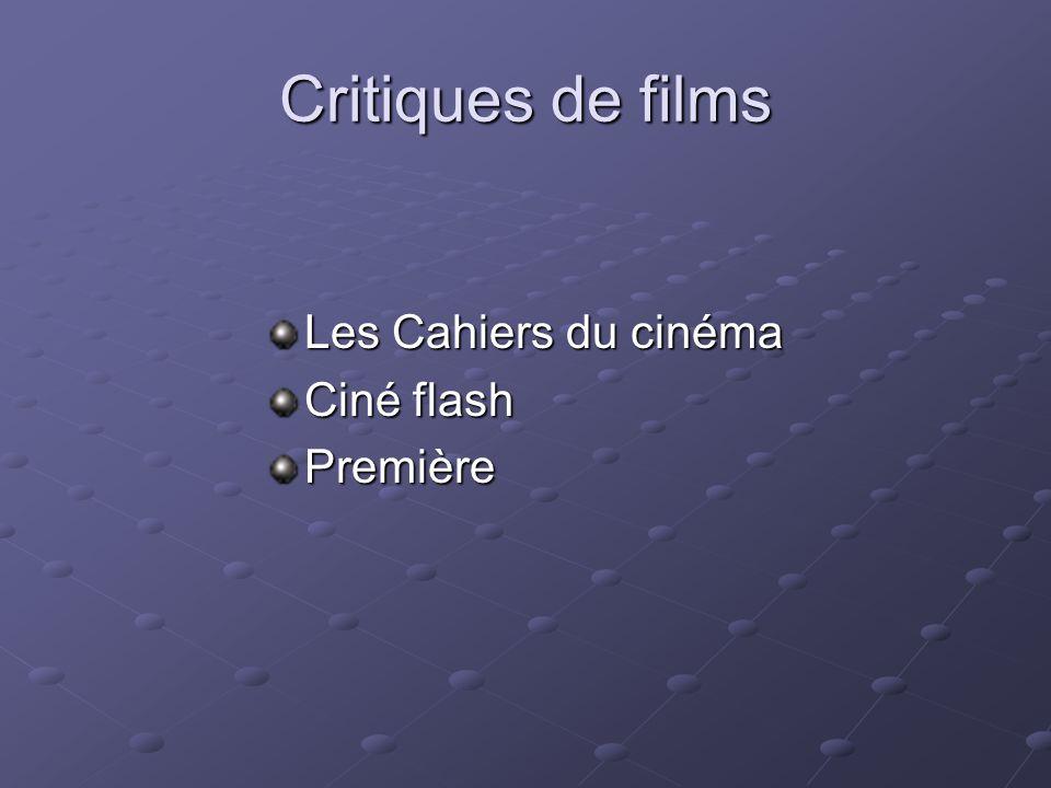 Lan prochain : films étrangers ChinoisIndiensJaponaisEspagnols