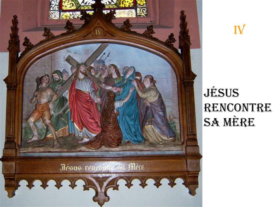 iii Jésus tombe pour la première fois