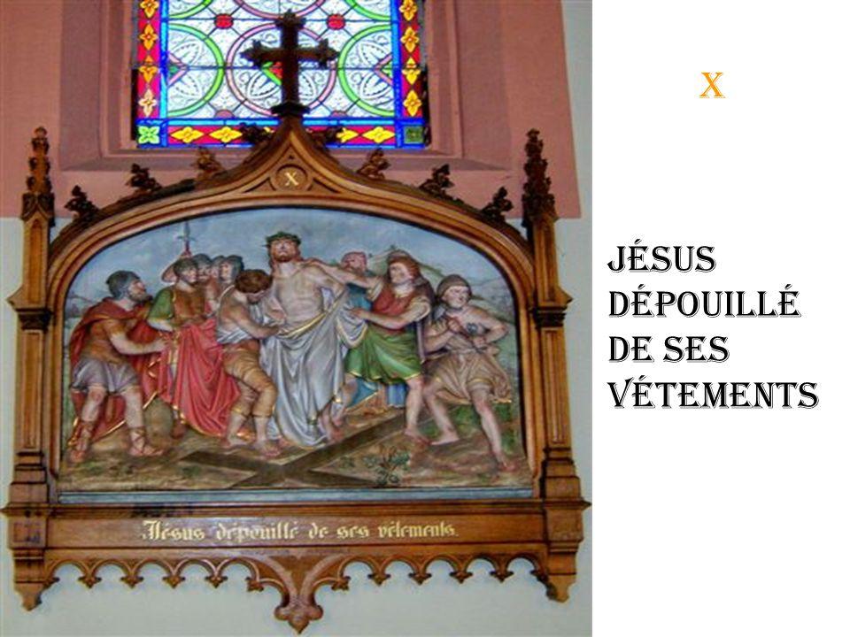ix Jésus tombe une 3éme fois