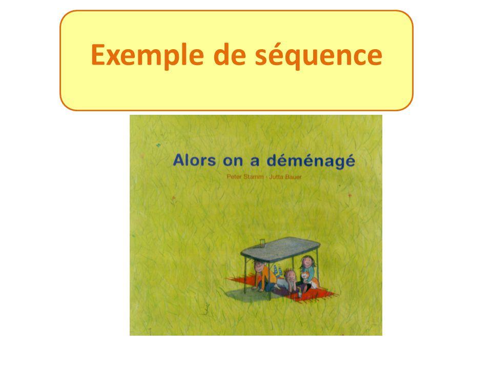 LIRE et ECRIRE Comprendre lorganisation du texte en comparant des pages, en associant débuts ou fins de page avec le bon titre, Transposer le texte en changeant on par nous en changeant de temps S1S1 S2S2 S3S3 S4S4 Récrire le texte en substituant différents personnages à on en changeant on par je Associer textes et illustrations Produire un texte à partir dun titre Reconstituer le livre S 10 S 12 S 13 CONJUGAISON Recueillir et trier les verbes à limparfait Construire un tableau de conjugaison Sentraîner à utiliser ce tableau de conjugaison reconnaître des verbes à limparfait, conjuguer un réservoir de verbes, Repérer les cas demploi de limparfait S5S5 S6S6 S7S7 S8S8 S 14 S 15 S 16 S 11 S 17 S 18