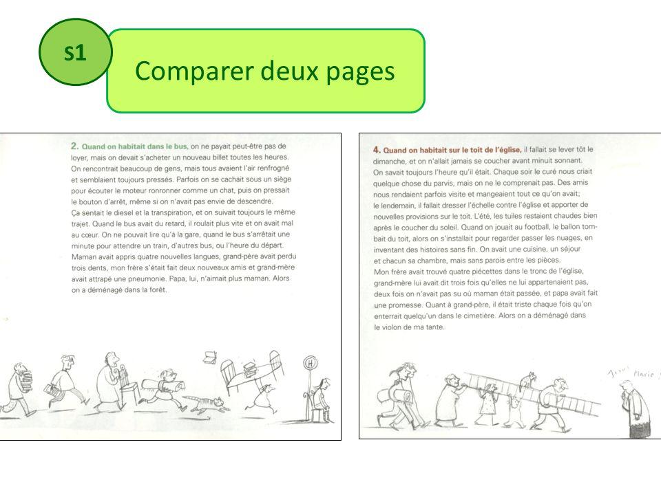 Comparer deux pages S1S1