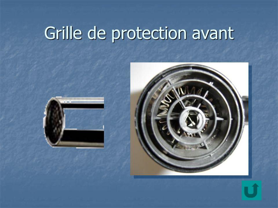 Grille de protection avant
