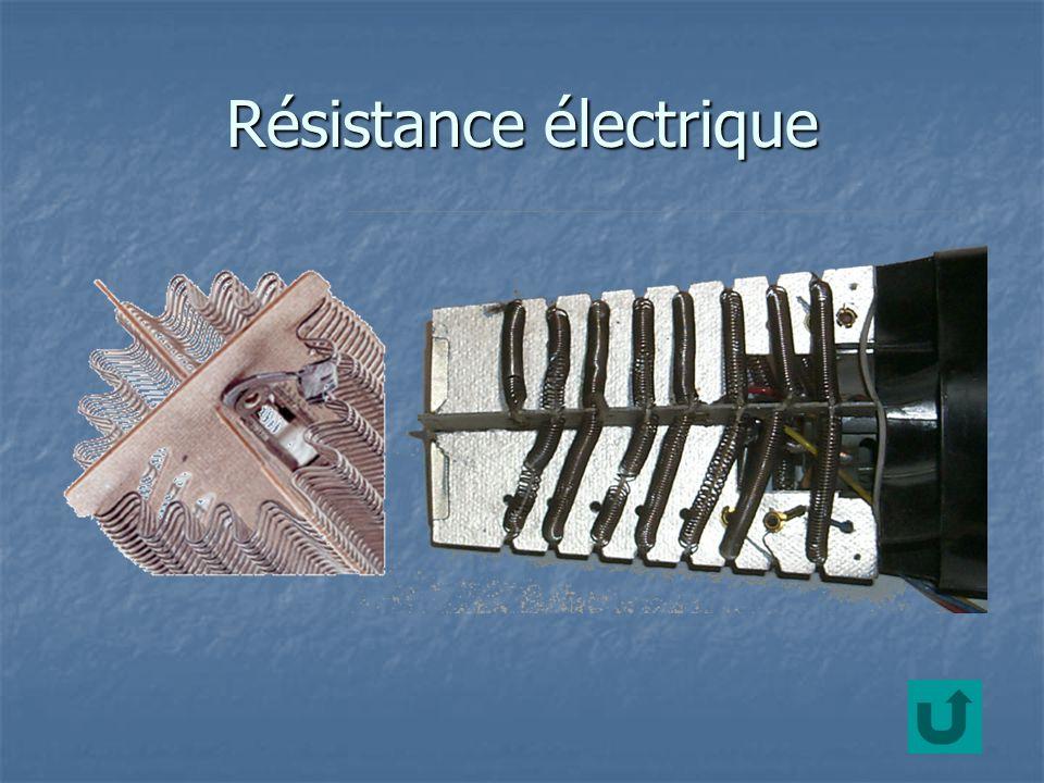 Résistance électrique