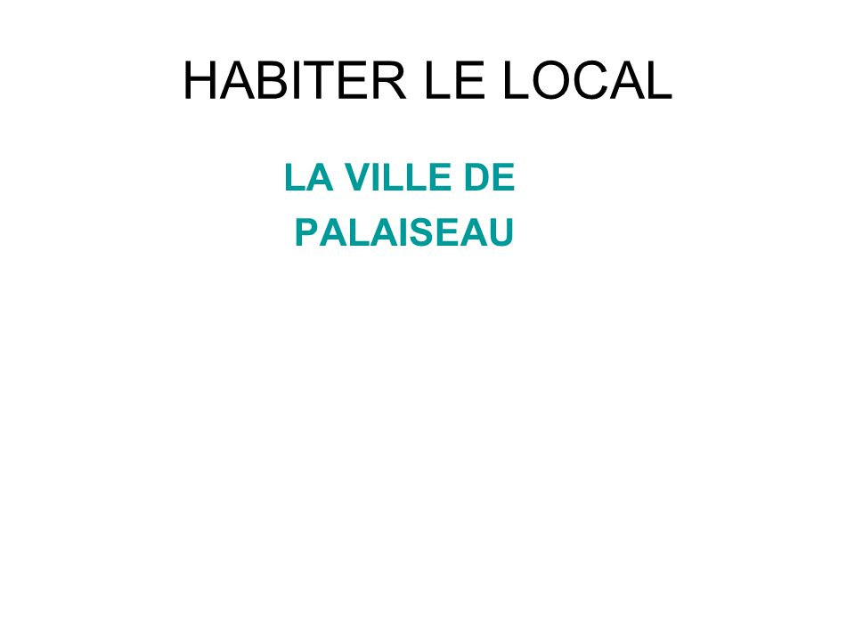 Un projet daménagement du Plateau (daprès le PLU) Document 1 Extrait du PLU de Palaiseau (site de la ville) Le Conseil municipal a voté le PLU le 12 juillet 2006 à une large majorité, et amélioré le 3 septembre 2008.