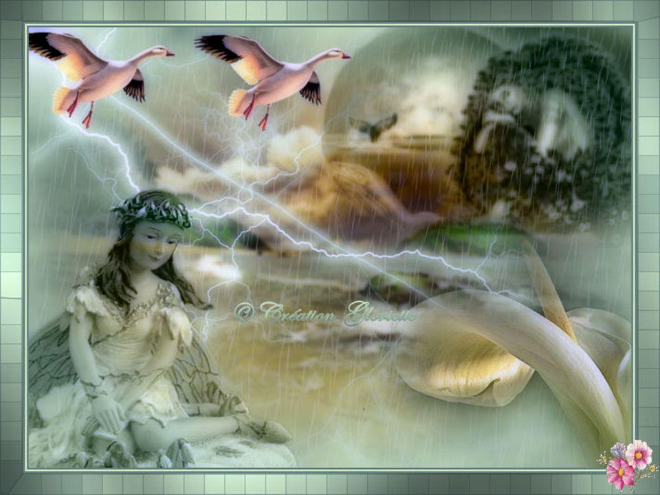 Parfois cest le bruit des vagues sur les Rochers Ou le cri des goélands qui suivent la Marée Ou encore leau qui descend un ruisseau Ou la pluie qui tinte sur les carreaux.