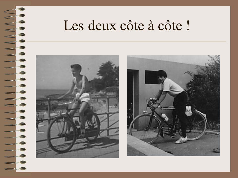 La la la laire, heu…. Comme quoi, moi aussi jai pédalé ! Un magnifique vélo rénové par mon grand- père maternel Et qui a fini pété en deux!