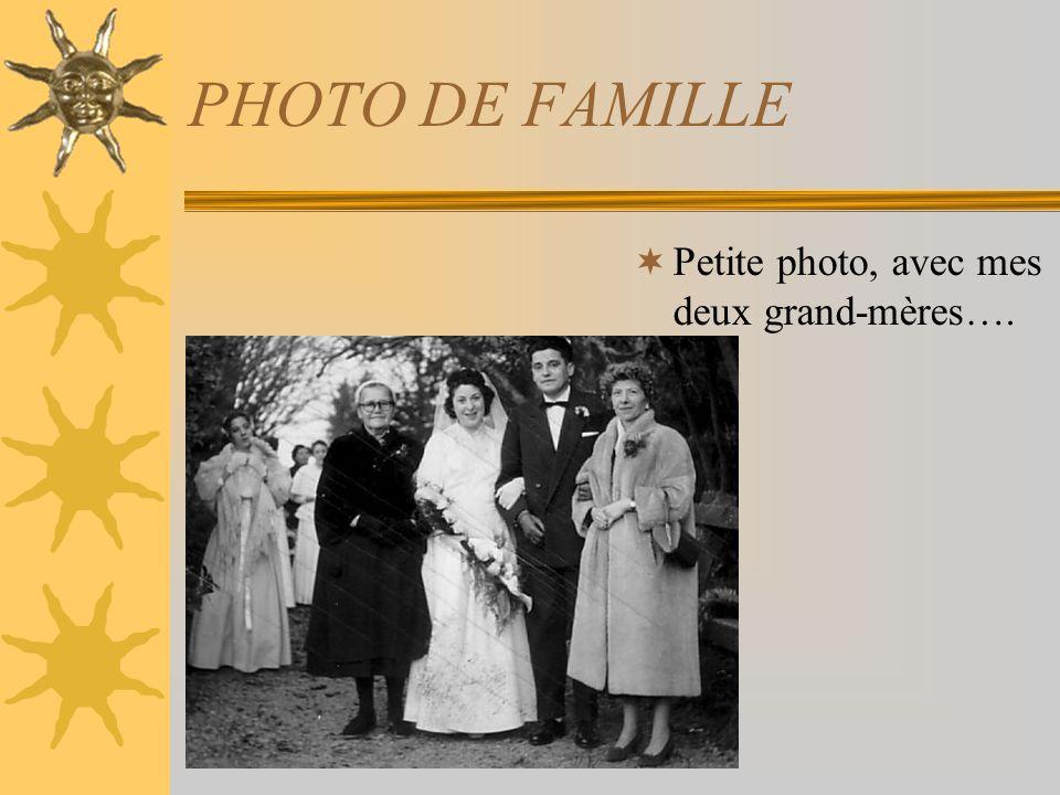LA PHOTO DE FAMILLE !