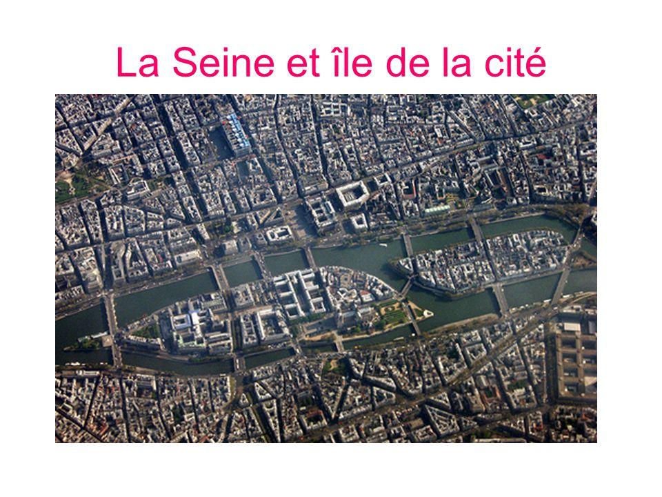 La Seine et île de la cité