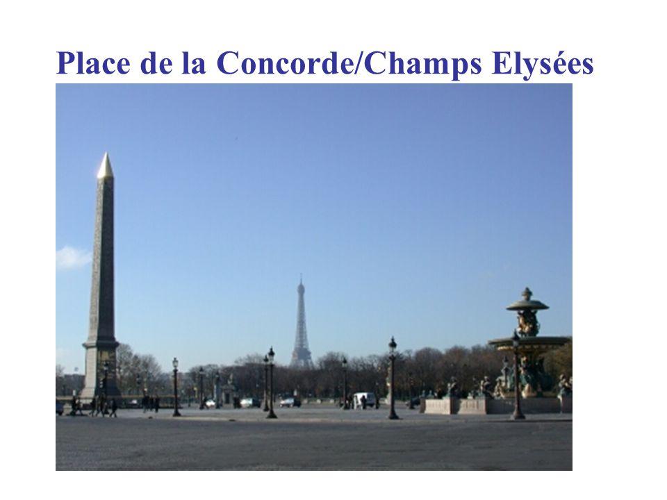 Place de la Concorde/Champs Elysées