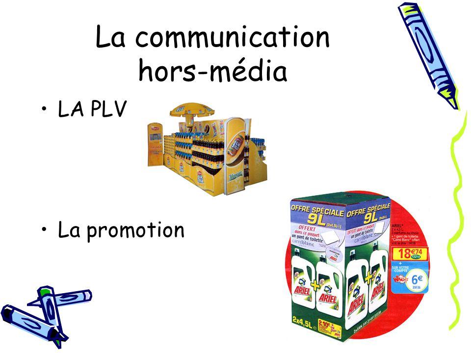 LA PLV La promotion