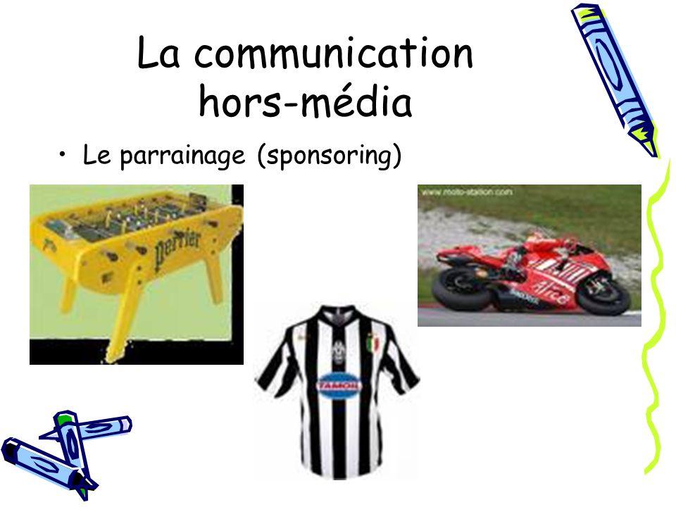 La communication hors-média Le parrainage (sponsoring)