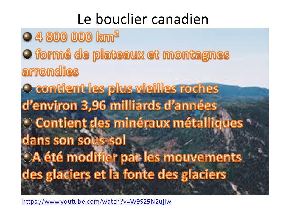 Les lacs formés par la fonte et le mouvement des glaciers http://www.youtube.com/watch?v=rXJHdjw G9Fc&list=PLmA3bbat47RPBNSA5Z9hYsxH- z5hexvfa