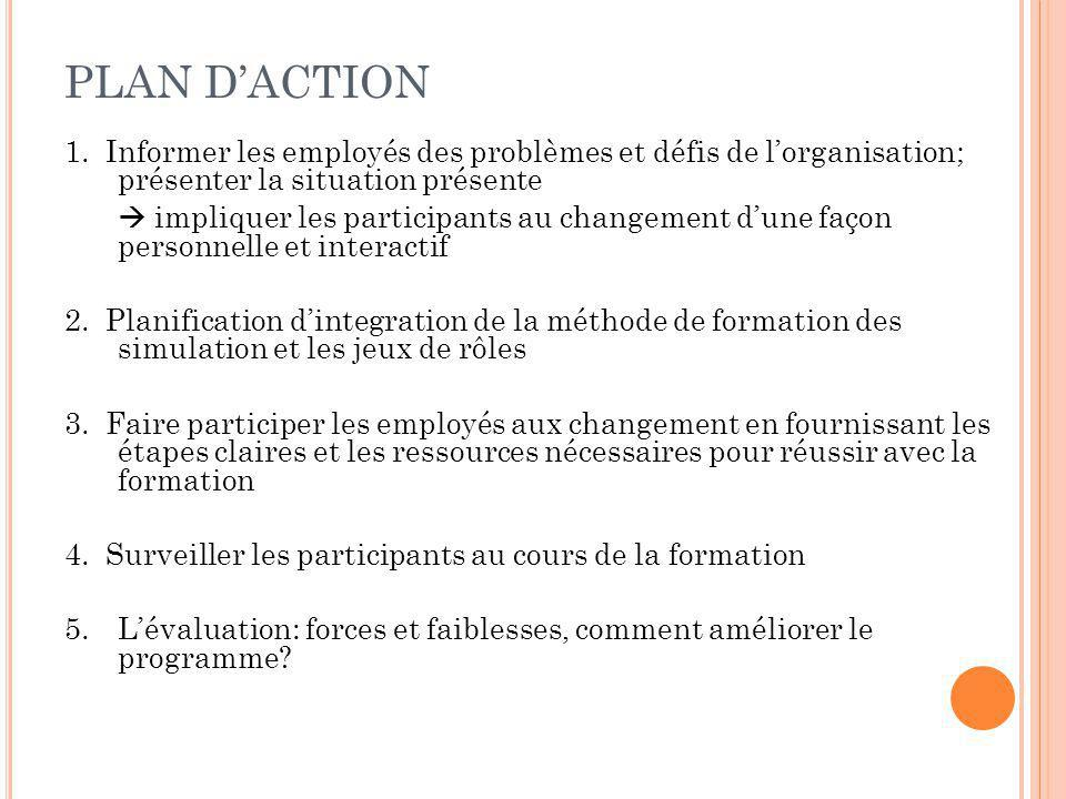 PLAN DACTION 1.