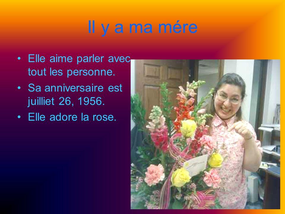 Mon Frére Il est né à mai 24, 1996. Il joue le trumpette. Il est content.