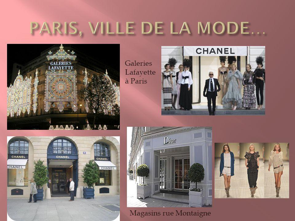 Galeries Lafayette à Paris Magasins rue Montaigne