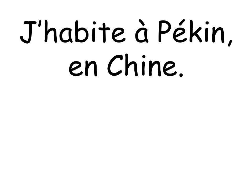 Jhabite à Pékin, en Chine.