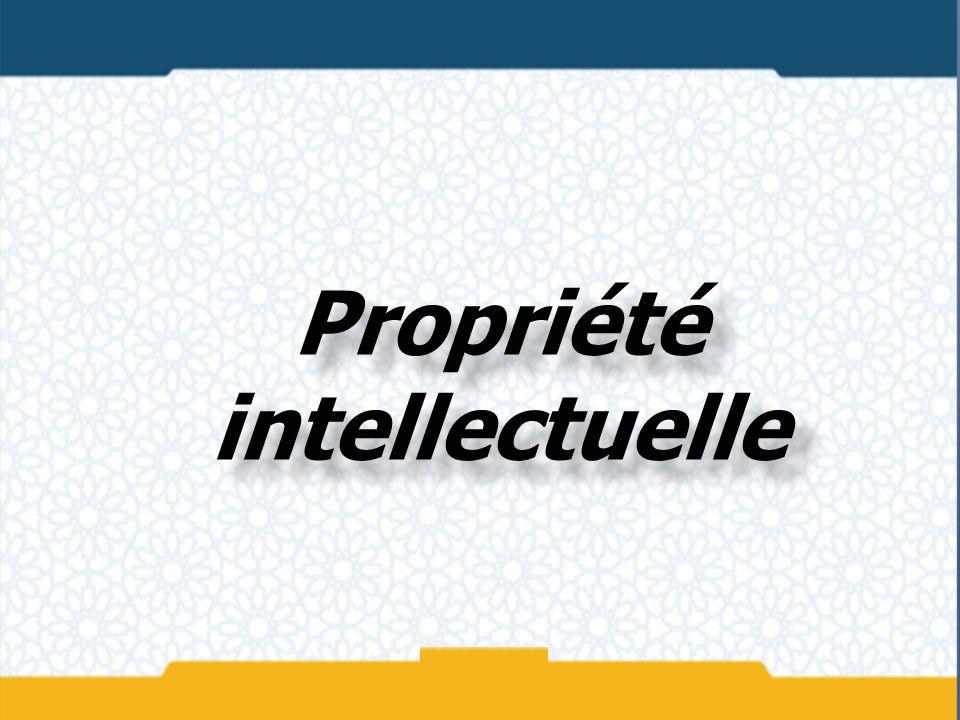 La propriété intellectuelle est généralement divisée en deux secteurs: la propriété industrielle qui, d une façon générale, protège les inventions et le droit d auteur qui protège les œuvres littéraires et artistiques.
