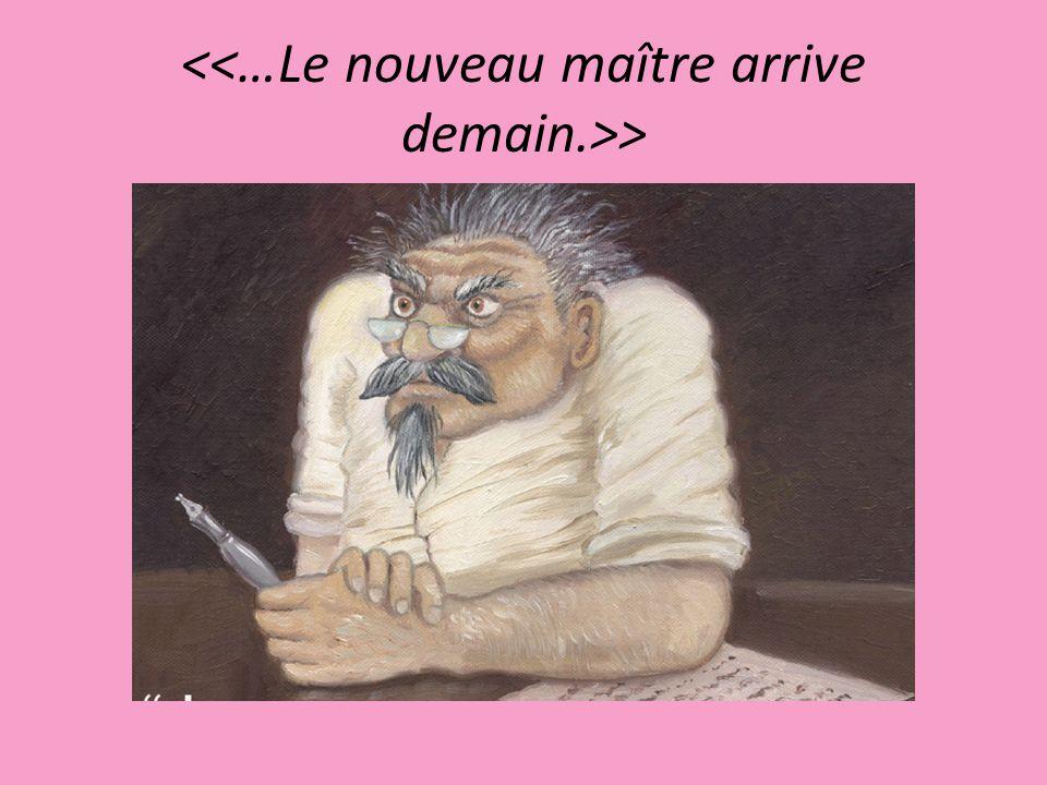 Ma dernière classe de français!…