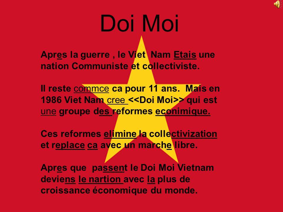 La Guerre Du Viêt Nam a opposé de 1959 à 1975. Cétait une guerre ou les Communistes du Nord ont battu les Démocratiques du Sud. Dans la guerre il yaur
